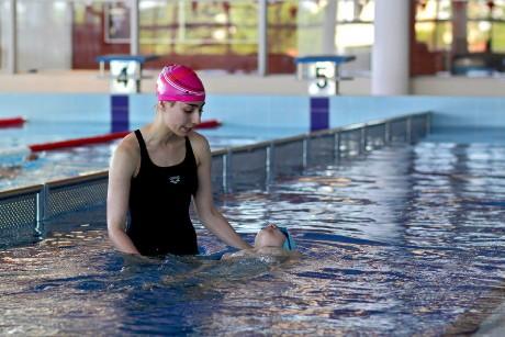 nauka pływania dla dzieci, młodzieży, dorosłych iniepełnosprawnych - szkoła pływania Aquamania